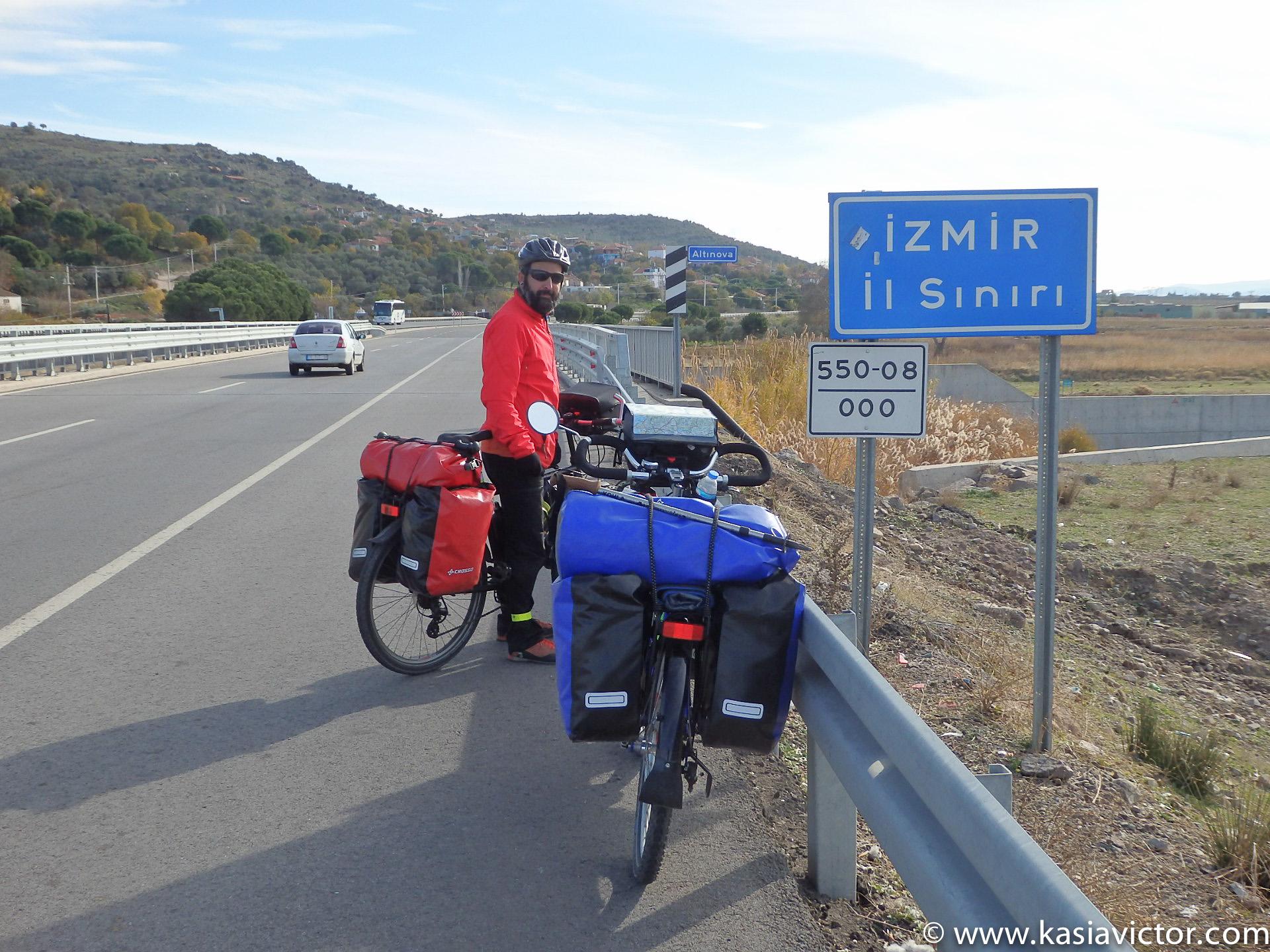Entering The Izmir Region