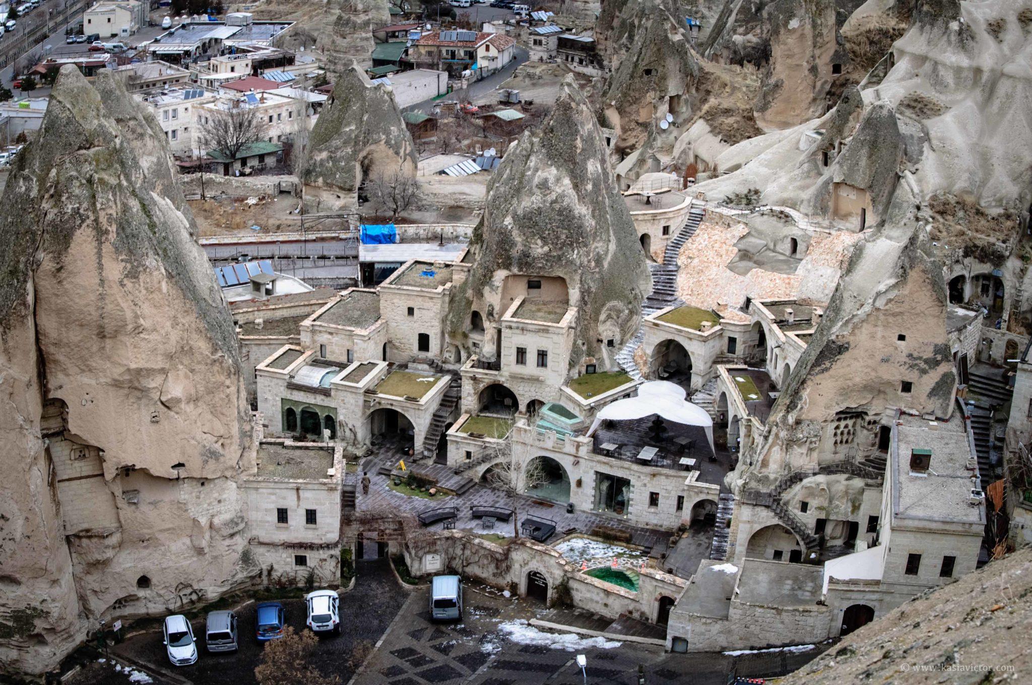 Goreme Y Hoteles En Cuevas