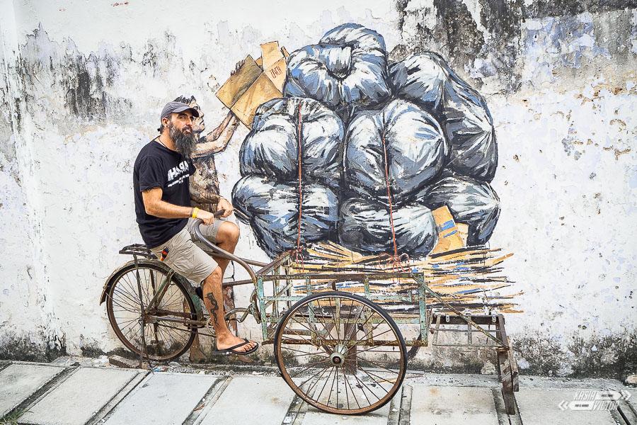 Ipoh Contra George Town. Street Art En Malasia